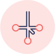 icon: downward branching with endnodes